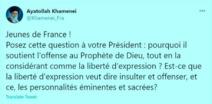 إنستغرام يغلق حساب خامنئي باللغة الفرنسية بعد رسالة وجهها للشـباب