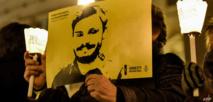 مظاهرة تطالب بالكشف عن قتلة ريجيني