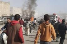 خمسة شهداء بينهم قائد شرطة بزاعة ومدنيين ضحايا تفجير الباب