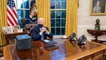 الرئيس الاميركي جو بايدن - ايه - ايه