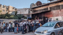 طابور امام مخبز سوري في دمشق