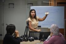 المصورة الصحافية سلافة مجدي