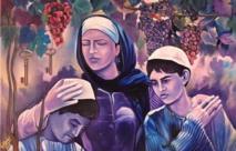 فنانون من غزة يجسدون برسوماتهم المعاناة التي عاشها القطاع