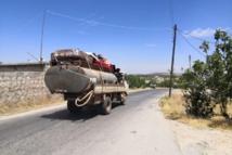 """""""الخوذ البيضاء""""تحذر من نزوح شامل من قرى جبل الزاوية والغاب"""