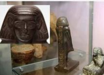 """حل لغز """"التمثال الفرعوني الدوار"""""""
