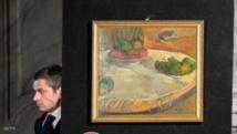"""العثور على لوحة """"غوغان"""" بمطبخ عمال"""
