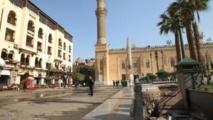 محموعه من وزراء مصر لحماية تراث القاهرة التاريخي