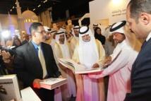 نهيان بن مبارك افتتح معرض أبوظبي الدولي  للكتاب والمتنبي شخصيته المحورية
