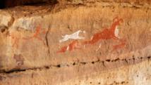 مخربون يدمرون  لوحات ومنحوتات من عصور ما قبل التاريخ في ليبيا