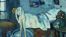 """لوحة خفية يكتشفها خبراء تحت لوحة """"الغرفة الزرقاء"""" لبيكاسو"""