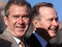 جورج بوش الابن يسجل حياة والده في نسختين مكتوبة ومسموعة