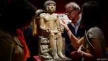 متحفان بريطانيان يعاقبان بعد بيع تمثال فرعوني