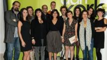 لقطة جمعت بين مخرجي الأفلام المشاركين فبي المهرجان