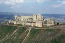 قلعة الحصن قبل تدميرها من قبل طيران النظام