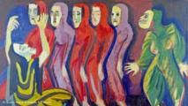 عرض أعمال الرسام التعبيري الألماني كيرشنر في معرض خاص
