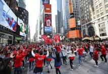 رقصات تركية في قلب نيويورك دعما لمسيرة السلام والتضامن