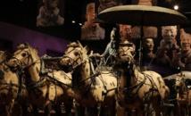 """""""جيش الطين"""" الصيني في ضيافة شيكاغو الأمريكية"""