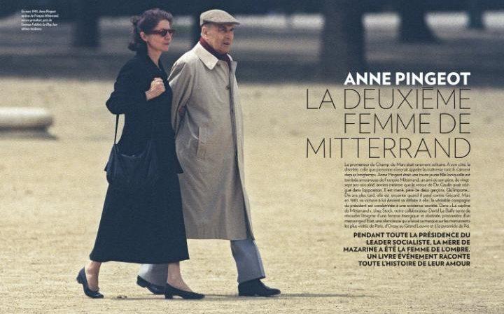 نشر مئات الرسائل الغرامية من فرانسوا ميتران إلى حبيبته