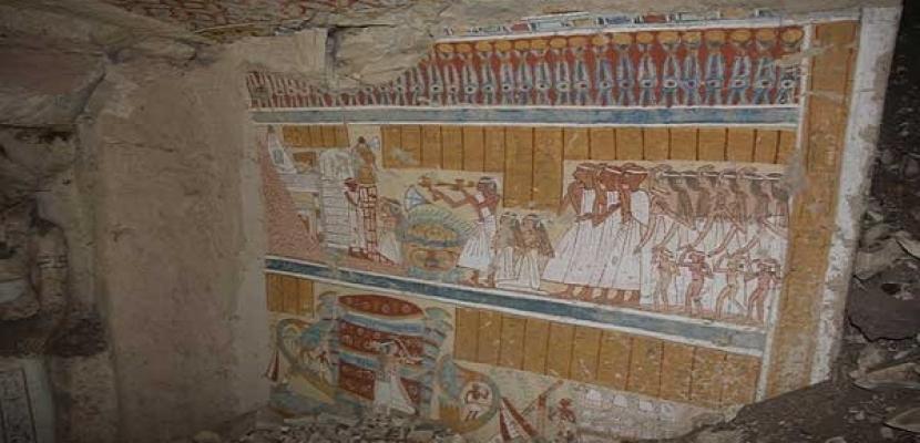 الكشف عن مقبرة جديدة تعود لعصر الرعامسة بالأقصر
