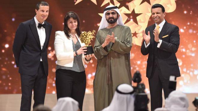 كندية تفوز بجائزة أفضل معلمة في العالم وقيمتها مليون دولار