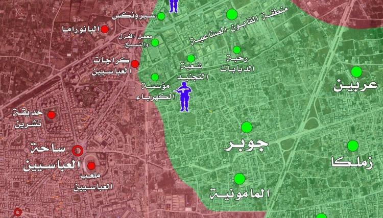 مكاسب الثوار وخسائر النظام في معركة دمشق