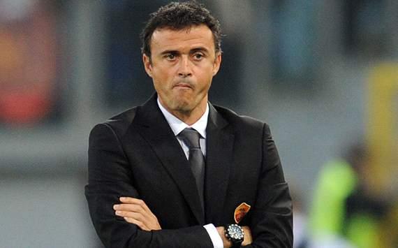 إنريكي حزين جدا لسقوط برشلونة ويتعلل بمباراة الذهاب