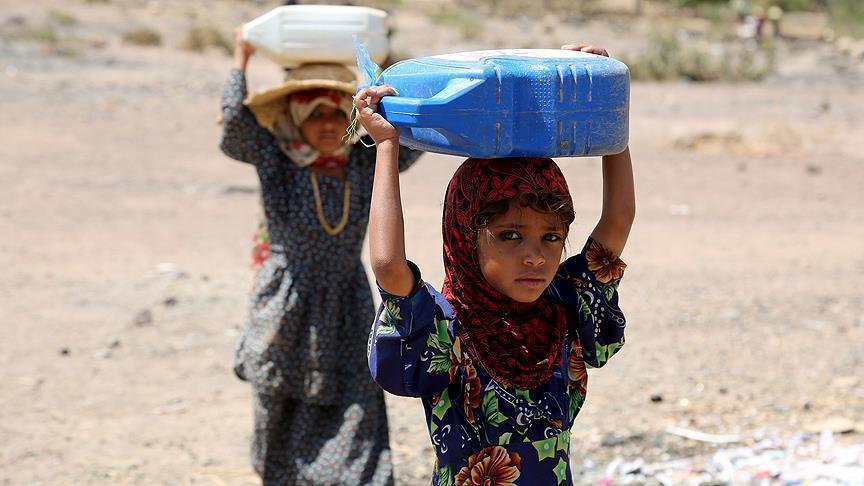 """""""اليونيسيف"""": وضع الأطفال السيء في اليمن تحول إلى كارثة"""