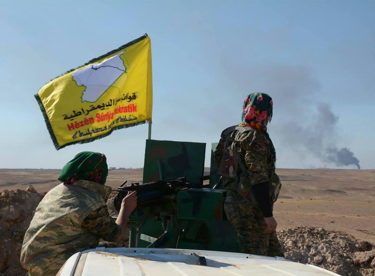"""قوات """"قسد"""" تسيطر على ثالث سدود نهر الفرات في سورية"""