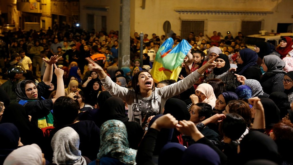 """حراك الريف المغربي..""""شباب يريد العيش بكرامة"""" بدل الهجرة"""