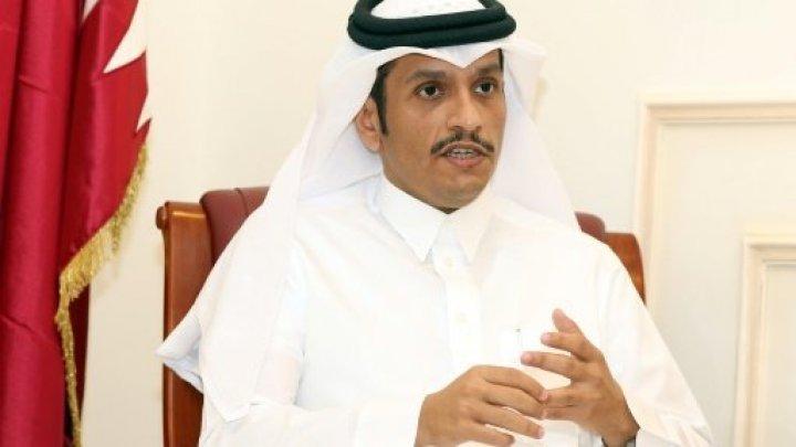 وزير الخارجية القطري ويؤكد قدرة بلاده على الصمود