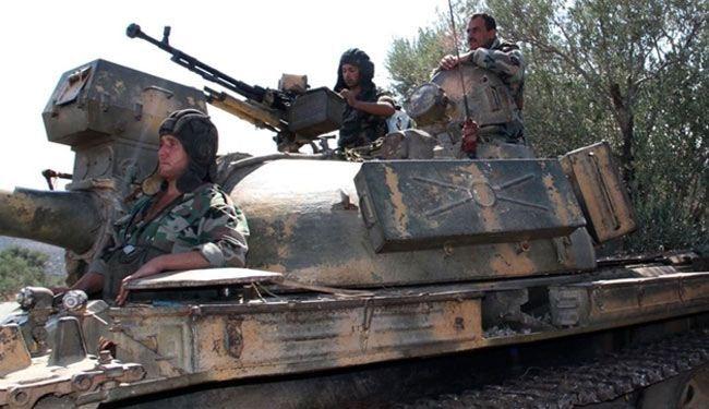 القوات السورية توقف تقدمها إلى الرقة وتتجه جنوبا في عمق البادية