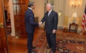 """بن زايد يطلع تيلرسون على خطوات """"مواجهة دعم قطر للتطرف"""""""