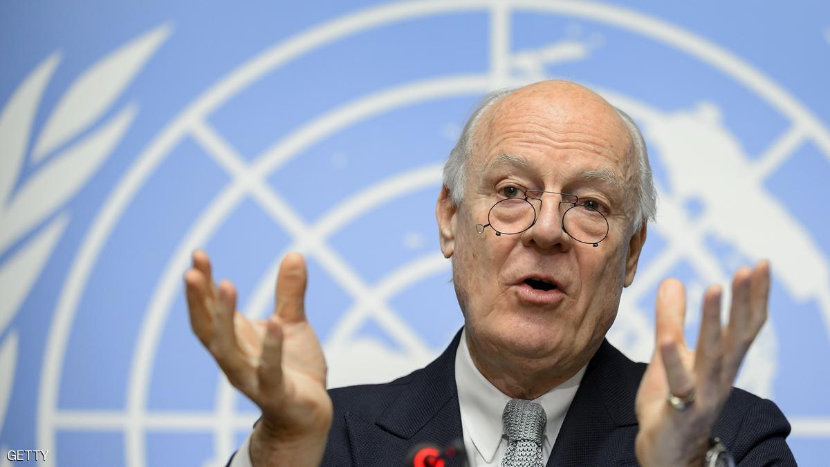 دي ميستورا : جولة سابعة من مفاوضات جنيف في 10 من  يوليو