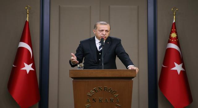 أردوغان يؤكد رفضه تأسيس دولة للأكراد في شمالي سورية