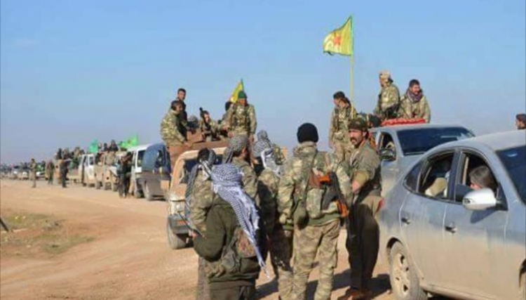 قوات سورية الديمقراطية المدعومة من واشنطن تطوق مدينة الرقة