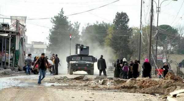 آلاف المدنيين عالقون بالموصل مع تقدم الجيش بالمدينة القديمة