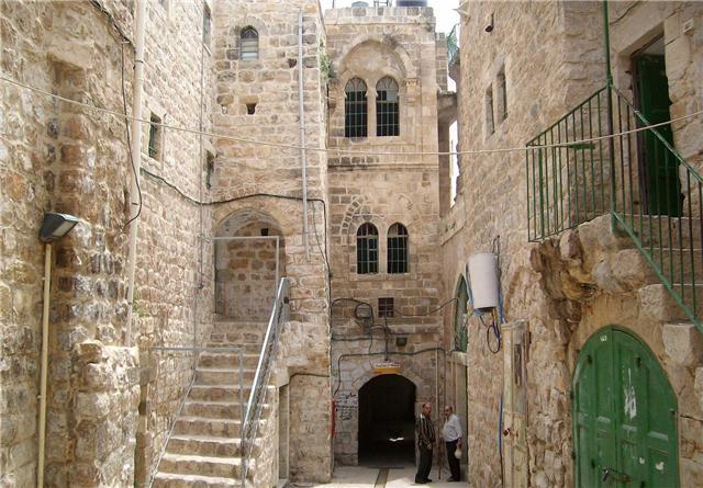 البلدة القديمة في الخليل