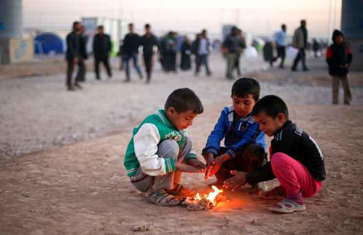 """منظمة """"أنقذوا الأطفال"""": أطفال الموصل يعانون نفسيا جراء المعارك"""