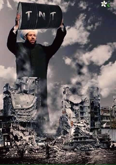 مفتي البراميل: من وضع بشار الأسد في الحكم هو الله!