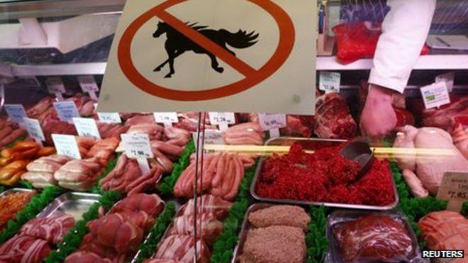القبض على 66 مشتبها في فضيحة لحم الخيل باوروبا