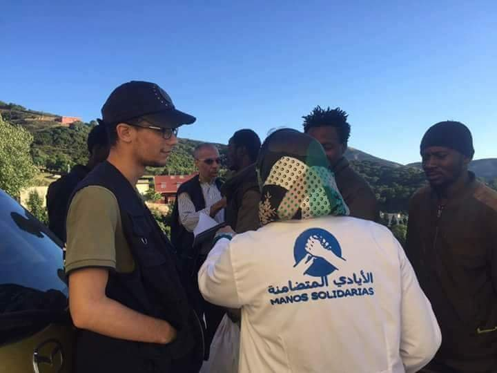 السلطات المغربية تمنع حملة إنسانيه لصالح المهاجرين في طنجة