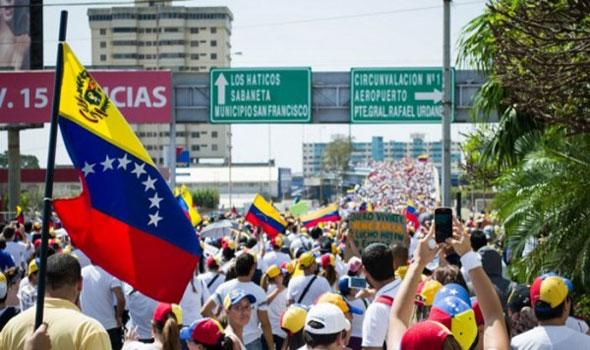المعارضة الفنزويلية تتحدى وتدعو إلى اضراب عام جديد
