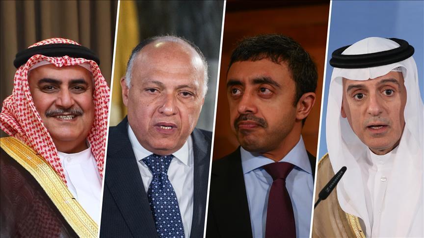 الدول المقاطعة تعلن استعداداها لحوار مشروط مع الدوحة