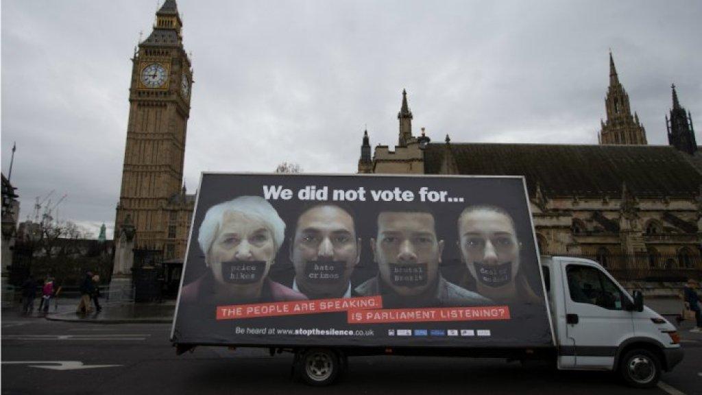 بريطانيا لن تراقب الحدود مع أيرلندا بعد الخروج من الاتحاد الاوروبي