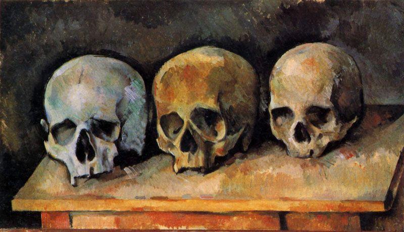 عرض 60 لوحة بورتريه مفزعة لسيزان في فرنسا