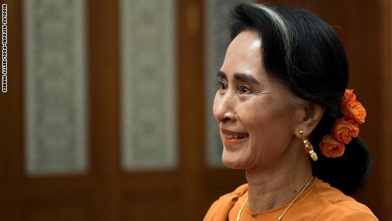 المرزوقي ينتقد زعيمة بورما: هذه المرأة غير جديرة بالاحترام