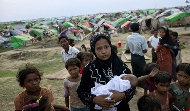 توقف توزيع المساعدات في ولاية راخين بميانمار