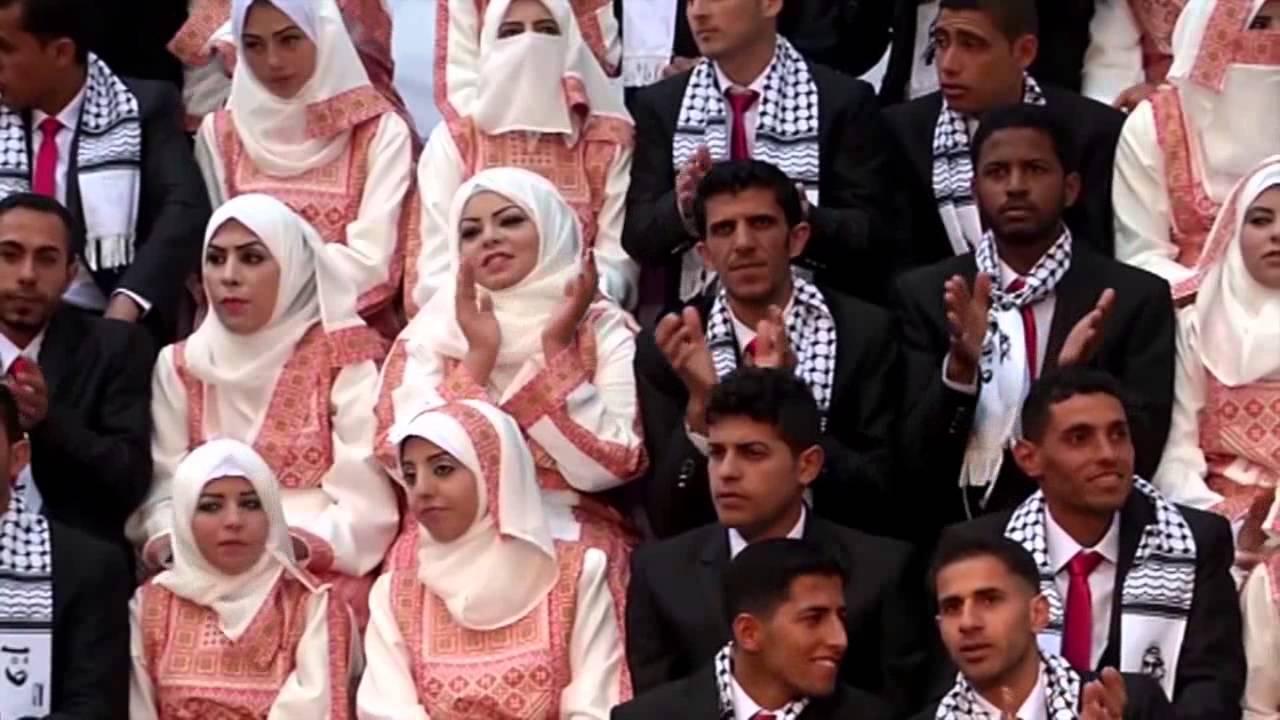 زفاف جماعي في قطاع غزة