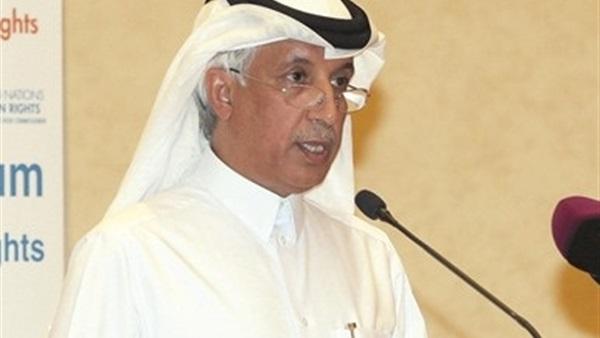 سلطان المريخي وزير الدولة القطري للشؤون الخارجية