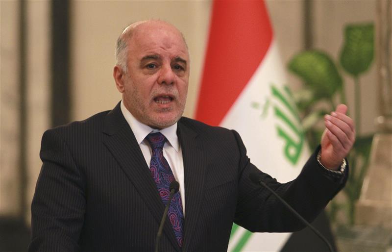 العبادي: استفتاء كردستان لا يمكن ان يجري من طرف واحد